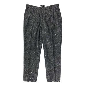 NWT J. Crew Wool Blend Martie Cropped Pants Size 6